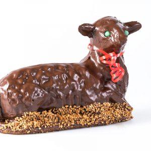 Stöcher | Osterlamm mit Schokolade