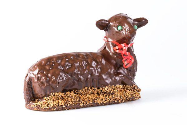 Stöcher   Osterlamm mit Schokolade